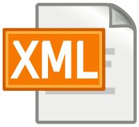 XML Icon CC BY SA RRZE icons - https://commons.wikimedia.org/wiki/User:RRZEicons
